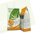 N&D Grain Free DOG Adult Fish & Orange 2x12 kg