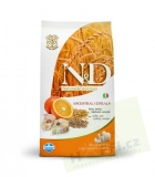 N&D Low Grain DOG Adult Maxi Codfish & Orange 2x12kg