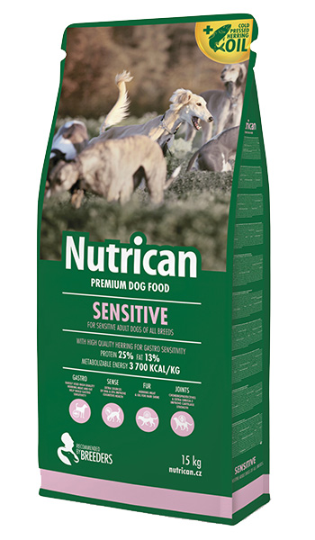 NutriCan Sensitive 3kg new