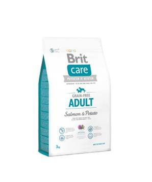 Brit Care Dog Grain-free Adult Salmon & Potato 1kg