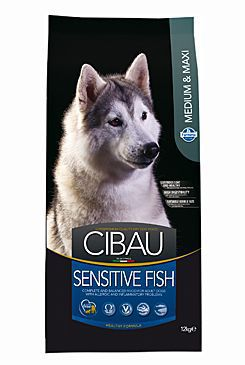 CIBAU Adult Sensitive Fish&Rice 2,5kg