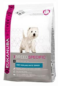 Eukanuba Dog Breed N. West High White Terrier 2,5kg