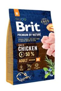 Brit Premium Dog by Nature Adult M 3kg