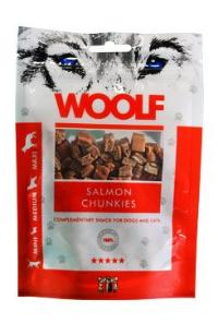 WOOLF pochoutka salmon chunkies 100g