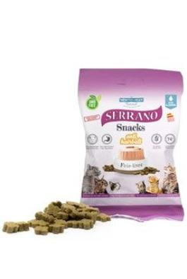 Serrano Snack for Cat-Liver-AntiHairball 50g