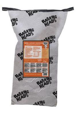 BARKING HEADS Bowl Lickin' Chicken 18kg