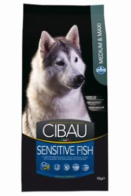 CIBAU Adult Sensitive Fish&Rice 12kg