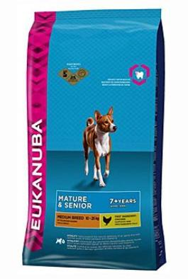 Eukanuba Dog Mature Medium 15kg