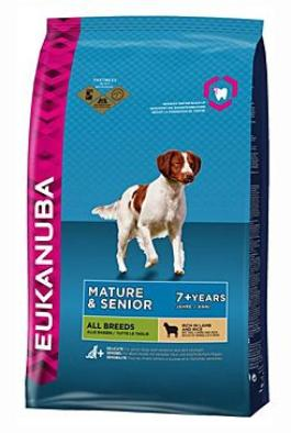 Eukanuba Dog Senior Small&Medium Lamb&Rice  12kg