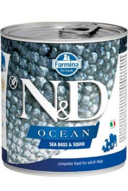 N&D DOG OCEAN Adult Codfish & Squid 285g