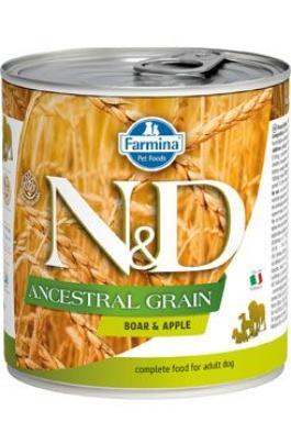 N&D DOG LOW GRAIN Adult Boar & Apple 285g