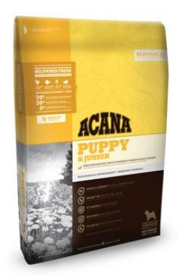 Acana Dog Puppy Junior Heritage 2x17kg