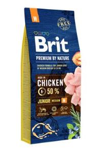 Brit Premium Dog by Nature Junior M 2x15kg