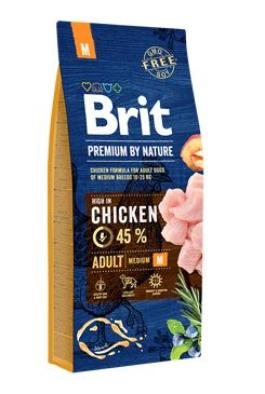 Brit Premium Dog by Nature Adult M 2x15kg