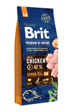 Brit Premium Dog by Nature Senior S+M 2x15kg