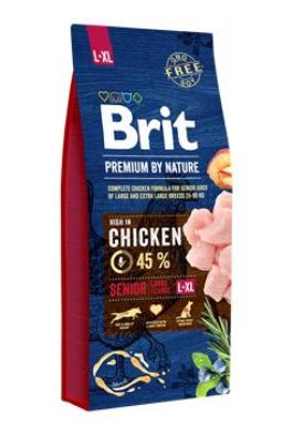 Brit Premium Dog by Nature Senior L+XL 2x15kg