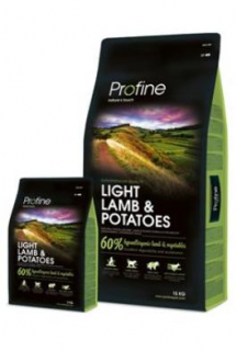 Profine NEW Dog Light Lamb & Potatoes 15 kg